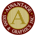 Advantage Signs and Graphics website MN