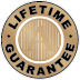 Metal plaques Lifetime Guarantee